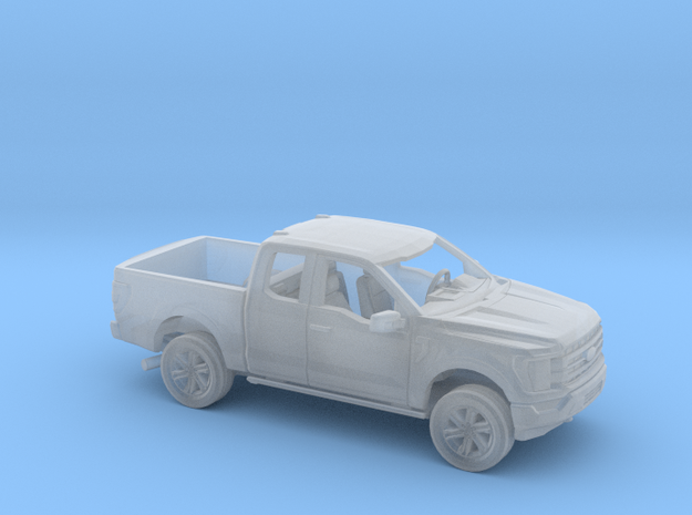 1/87 2021 Ford F150 Extended Cab Short Bed Kit in Smooth Fine Detail Plastic
