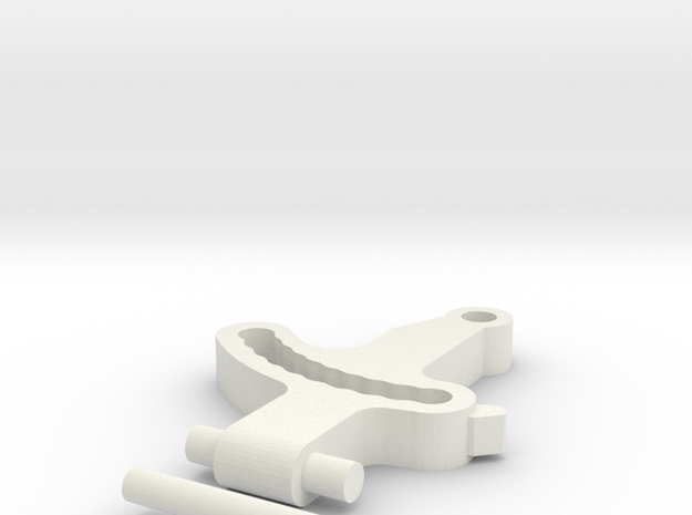 Krono's Replacement Ankle  in White Natural Versatile Plastic