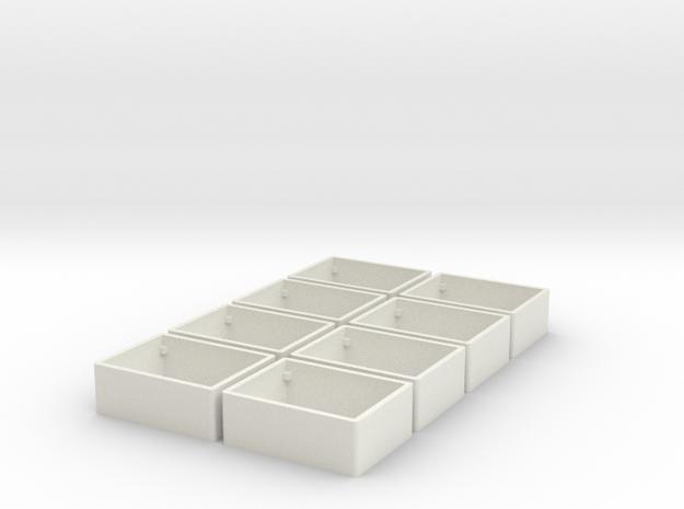 11mm x 15mm Soberton CUI Speaker Enclosure (8X) in White Natural Versatile Plastic