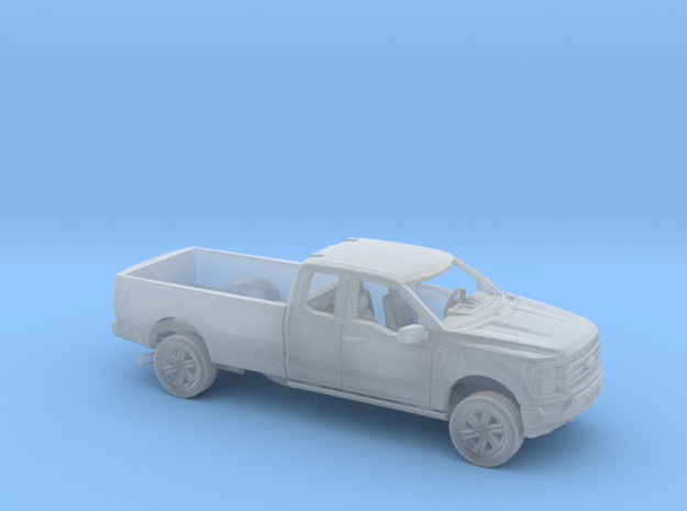 1/160 2021 Ford F150 Extended Cab Long Bed Kit in Smooth Fine Detail Plastic