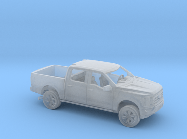 1/160 2021 Ford F-150 Crew Cab Short Bed Kit in Smooth Fine Detail Plastic