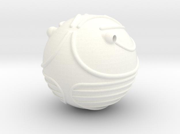 Golden Snitch (Lifesize) in White Processed Versatile Plastic