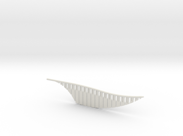Snitch Wing (Lifesize) in White Natural Versatile Plastic