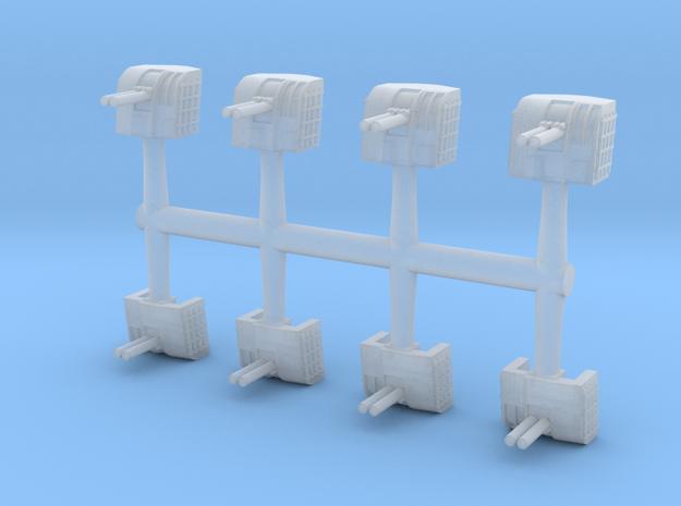 1/700 12.7cm Type 89 High-Angle Twin Mount (8x)