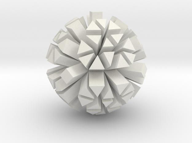 gmtrx lawal f110 skeletal polyhedron spike in White Natural Versatile Plastic