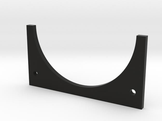Type 98 rear glass holder plate in Black Natural Versatile Plastic