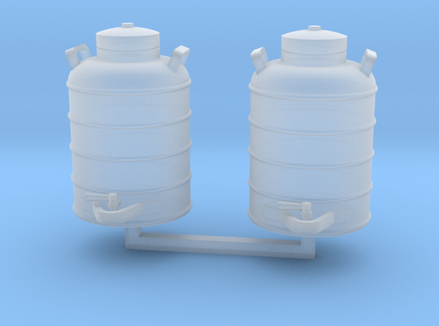 Aervoid Mod.904 water cooler 1/24 scale - 2 pieces in Smooth Fine Detail Plastic