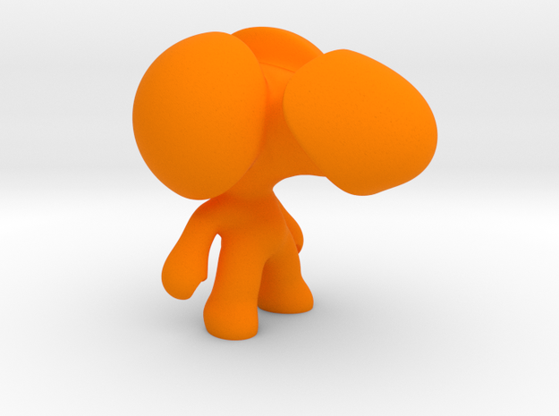 MrDick in Orange Processed Versatile Plastic
