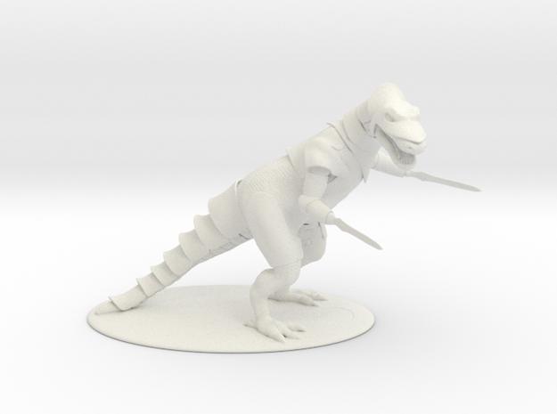 K'Chain Che'Malle Miniature in White Natural Versatile Plastic: 1:60.96