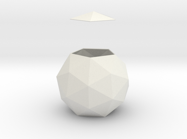 gmtrx lawal pentakis dodecahedron in White Natural Versatile Plastic