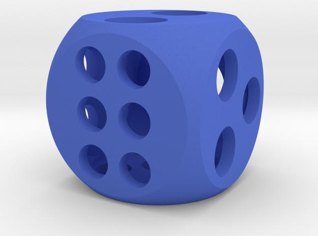 "0.5"" Balanced D6 3d printed"