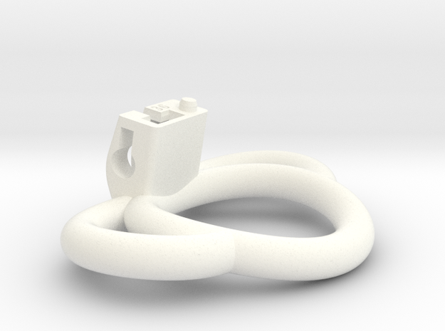 Cherry Keeper Ring G2 - 36mm Handles in White Processed Versatile Plastic