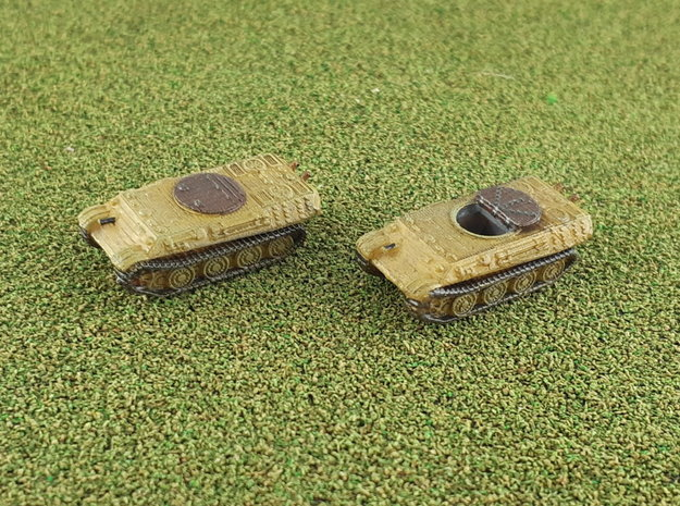 Bergepanter early 1/285 in Smooth Fine Detail Plastic