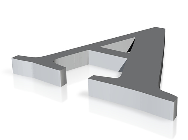 A Cufflinks 3d printed