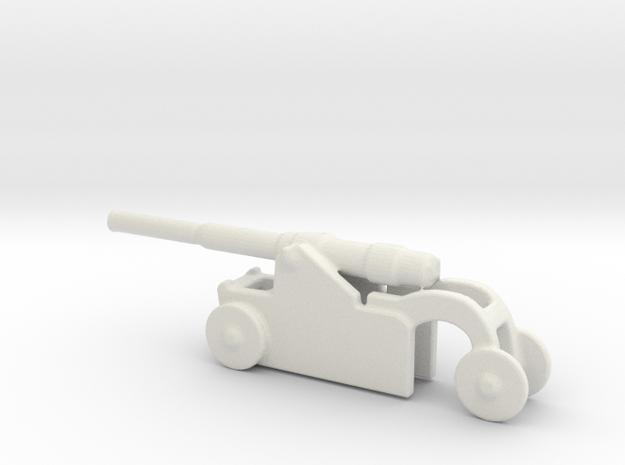 Italian 254mm cannon 1/285 6mm 1 in White Natural Versatile Plastic