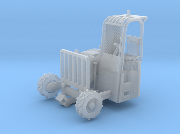 Truck Mounted Forklift 1-64 Scale Positional  in Smooth Fine Detail Plastic