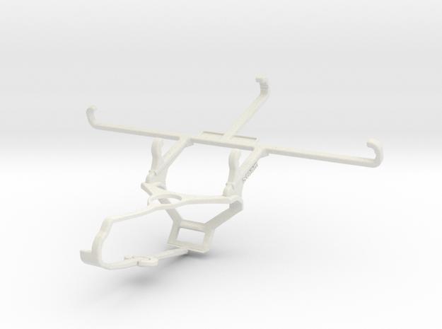 Controller mount for Steam & Xiaomi Mi 11 - Front in White Natural Versatile Plastic