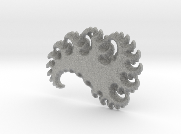 Abstract 3D Fractal Pendant 3d printed