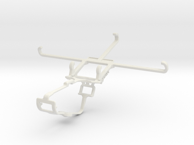 Controller mount for Xbox One & vivo X60t in White Natural Versatile Plastic