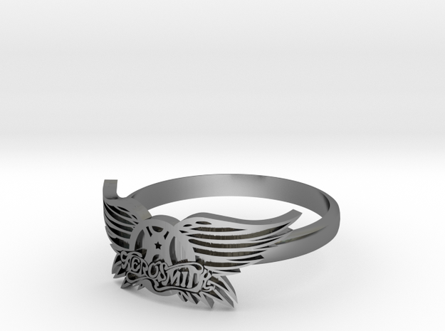 Aerosmith Ring 3d printed