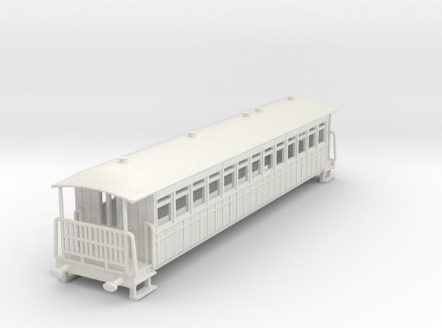 o-100-garstang-knott-end-bogie-comp-coach in White Natural Versatile Plastic