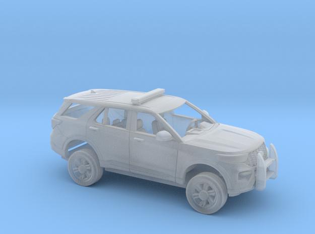 1/87 2020 Ford Explorer Police Interceptor Kit in Smoothest Fine Detail Plastic