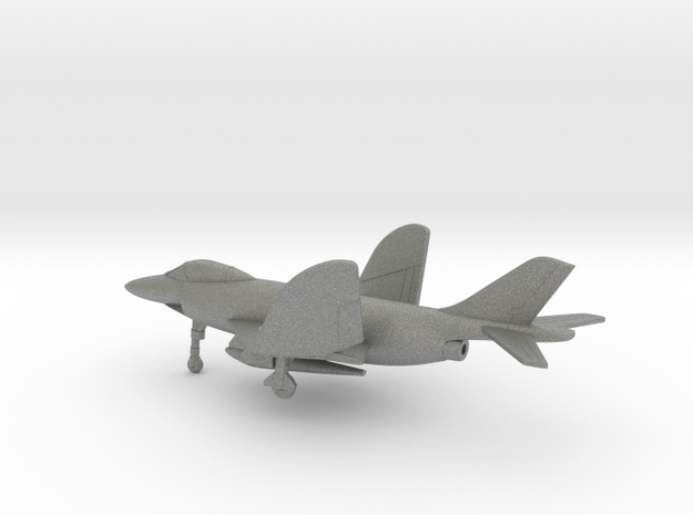 McDonnell F3H Demon (folded wings) in Gray PA12: 6mm
