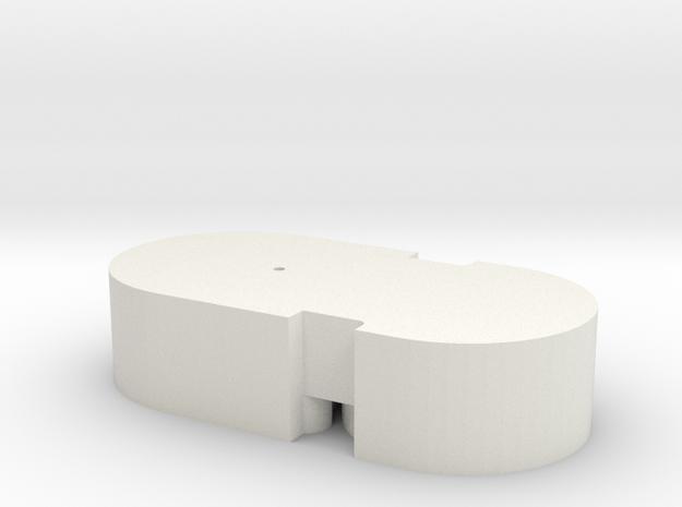 Broadway Limited 2-8-2 Speaker Enclosure in White Natural Versatile Plastic