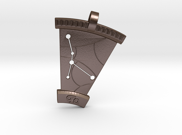Cancer Constellation Pendant 3d printed