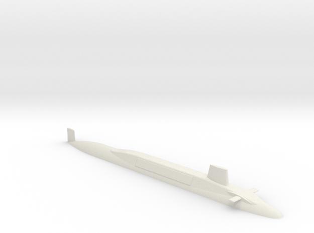 HMS Vanguard 1:700 in White Natural Versatile Plastic
