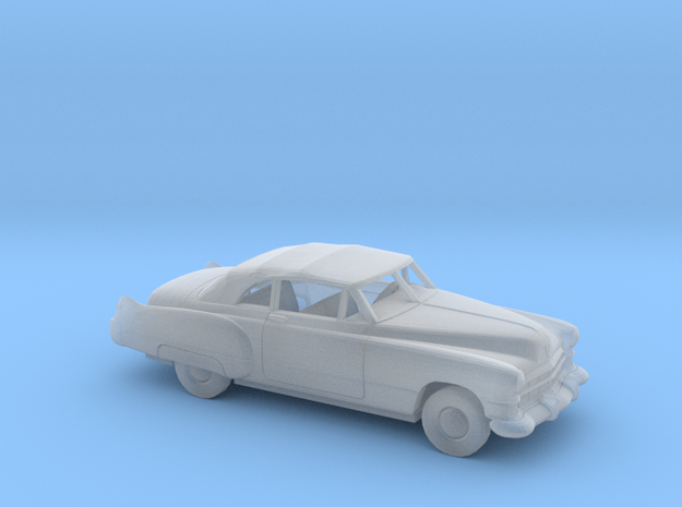 1/87 1949 Cadillac Eldorado Convertible Kit in Smooth Fine Detail Plastic