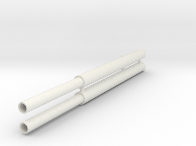 Zwenkcilinders in White Natural Versatile Plastic