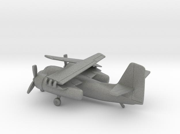 Grumman S2-F Tracker (folded wings) in Gray PA12: 1:200