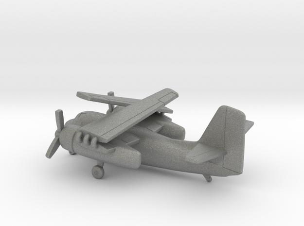Grumman C-1 Trader (folded wings) in Gray PA12: 6mm