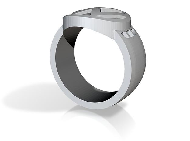 VW ring Sz 15 3d printed