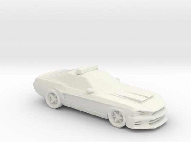2016 Ford Falcon XR8 MFP 1:160 scale in White Natural Versatile Plastic