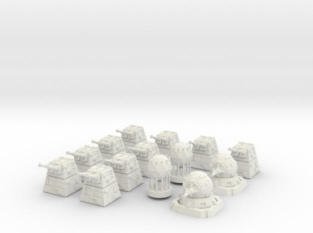 Battle Mat Tokens 3d printed