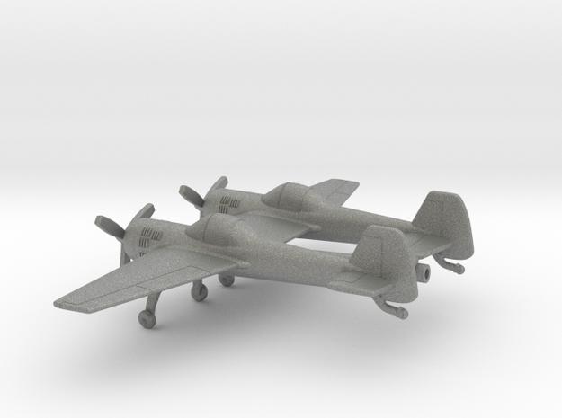 Yakovlev Yak-110 in Gray PA12: 1:100
