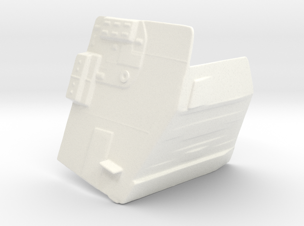 Side Door (Slave One) in White Processed Versatile Plastic