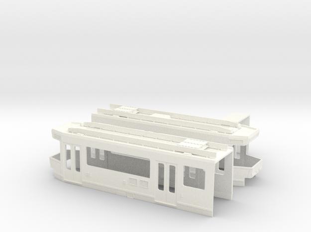 Gehäuse SNCV 7000 in White Processed Versatile Plastic