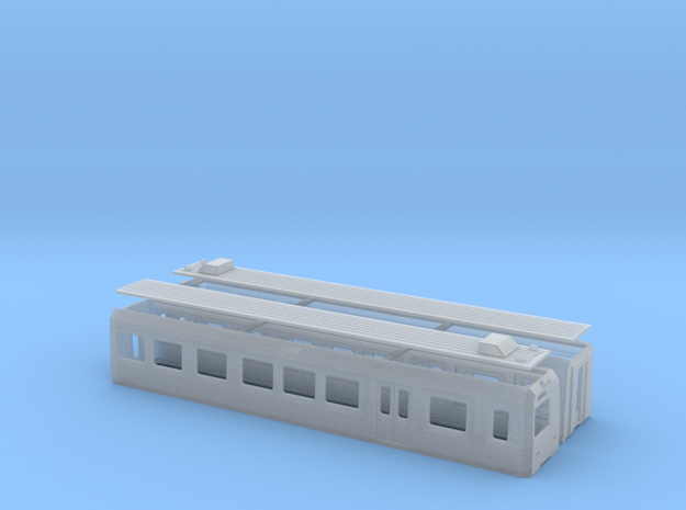 Euskotren UT310 in Smooth Fine Detail Plastic: 1:120 - TT