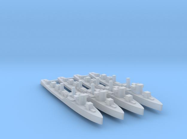 4pk sprue Soviet Uragan class 1:1250 WW2 in Smooth Fine Detail Plastic