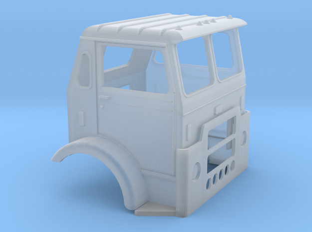 1/87 White Compact Cab in Smoothest Fine Detail Plastic