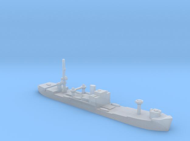 German Sperrbrecher 3 WW2 1:1200 masts in Smooth Fine Detail Plastic