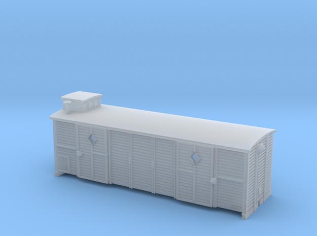 fourgon vivrais - body - Nm - 1-160 in Smooth Fine Detail Plastic