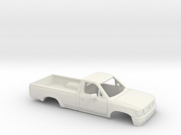 40mm Wheelbase 1988-97 Toyota Hilux RegCab Shell in White Natural Versatile Plastic