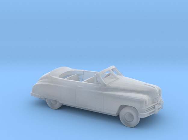 1/87 1948-50 Packard Super Eight Convertible Kit in Smooth Fine Detail Plastic
