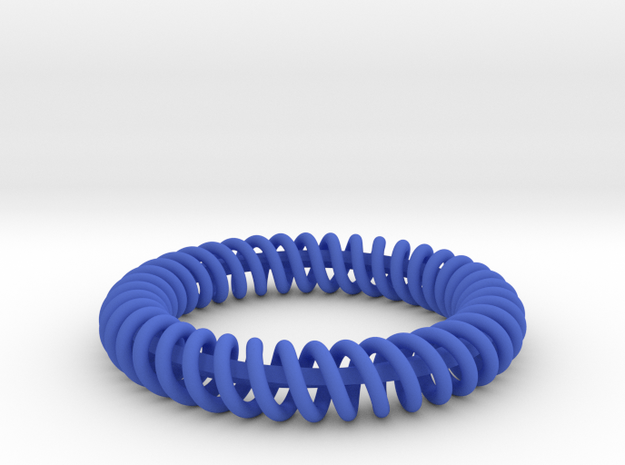 Twisted Bracelet 2  3d printed