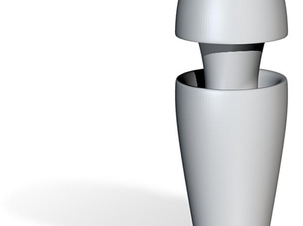 'Prometheus' Ampule Vase 3d printed