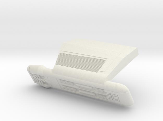 D-10 Nacelle Right 2500 in White Natural Versatile Plastic